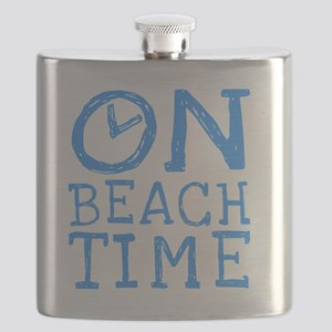 On Beach Time Flask