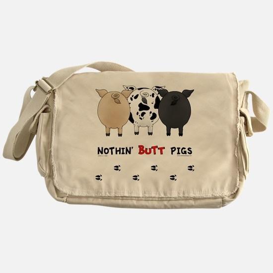 pigbuttsnew Messenger Bag