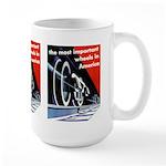 The most important Wheels- Large Mug
