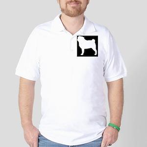 Pug Hitch Cover Golf Shirt