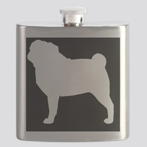 Pug Hitch Cover Flask