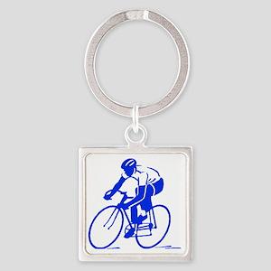 Bike Rights 1 Square Keychain