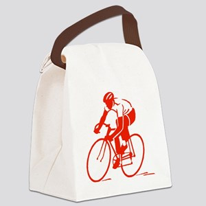 Bike Rights 3 Canvas Lunch Bag