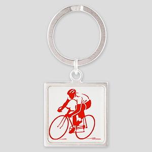 Bike Rights 3 Square Keychain