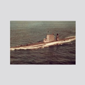 uss raton agss large framed print Rectangle Magnet