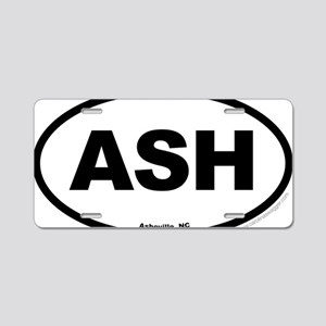Asheville North Carolina EU Aluminum License Plate