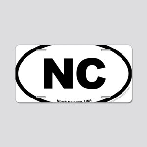 North Carolina USA North Ca Aluminum License Plate