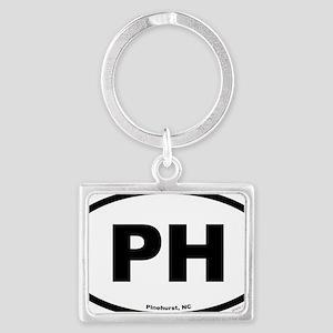 Pinehurst PH North Carolina EUR Landscape Keychain