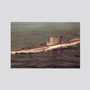 uss raton agss framed panel print Rectangle Magnet