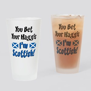 Bet Haggis Im Scottish Drinking Glass