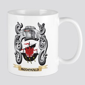 Mcdonald Coat of Arms - Family Crest Mugs