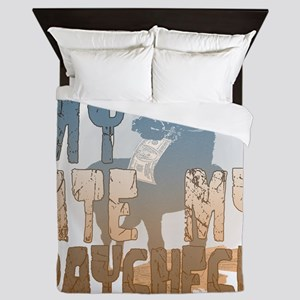 My Horse Ate My Paycheck 2 Queen Duvet