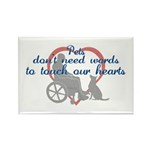 Touch Your Heart v4 Rectangle Magnet (100 pack)