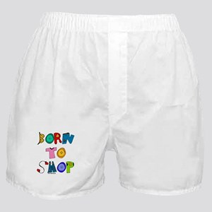 Born to Shop Boxer Shorts