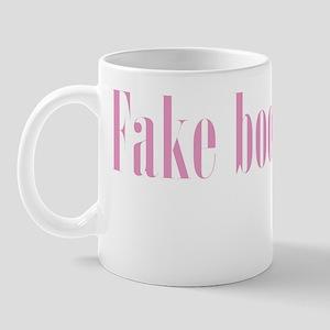 Fake boob man Mug