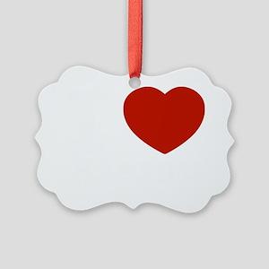 I love Kieran designs Picture Ornament