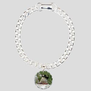 Musician Spiny the Lizar Charm Bracelet, One Charm
