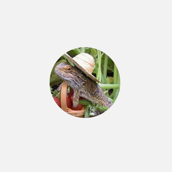 Gardener Spiny the Lizard Mini Button