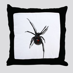 Black Widow No text Throw Pillow
