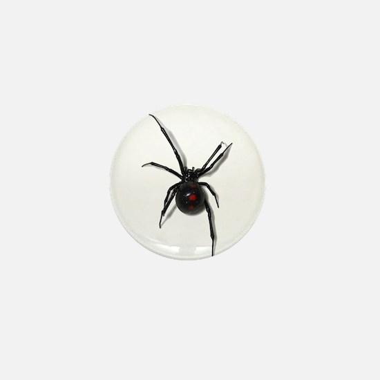 Black Widow No text Mini Button