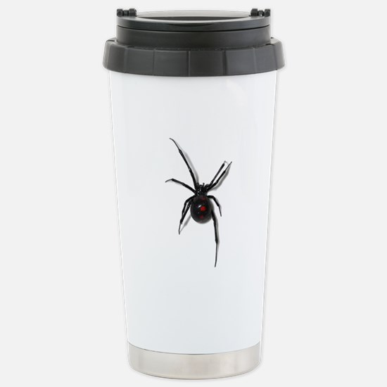 Black Widow No text Travel Mug