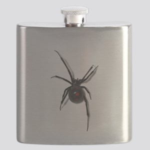 Black Widow No text Flask