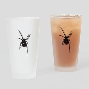 Black Widow No text Drinking Glass