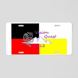 VisionQuest2012 Aluminum License Plate