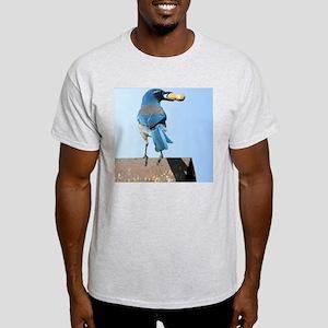Cute Bluebird with Peanut Light T-Shirt
