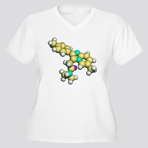Zolpidem, sedativ Women's Plus Size V-Neck T-Shirt