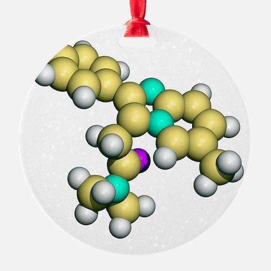 Zolpidem, sedative drug Ornament