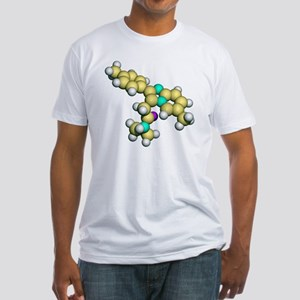 Zolpidem, sedative drug Fitted T-Shirt