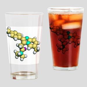 Zolpidem, sedative drug Drinking Glass