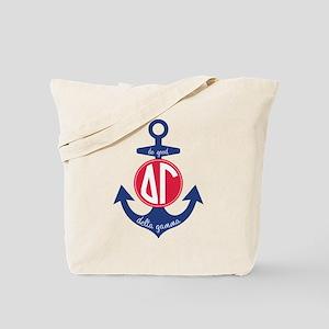 Delta Gamma Anchor Tote Bag