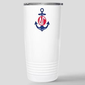 Delta Gamma Anchor Stainless Steel Travel Mug