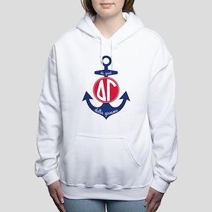 Delta Gamma Anchor Women's Hooded Sweatshirt