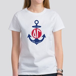 Delta Gamma Anchor Women's Classic White T-Shirt
