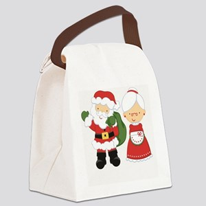 Mr. and Mrs. C Canvas Lunch Bag
