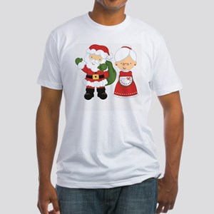 Mr. and Mrs. C Fitted T-Shirt