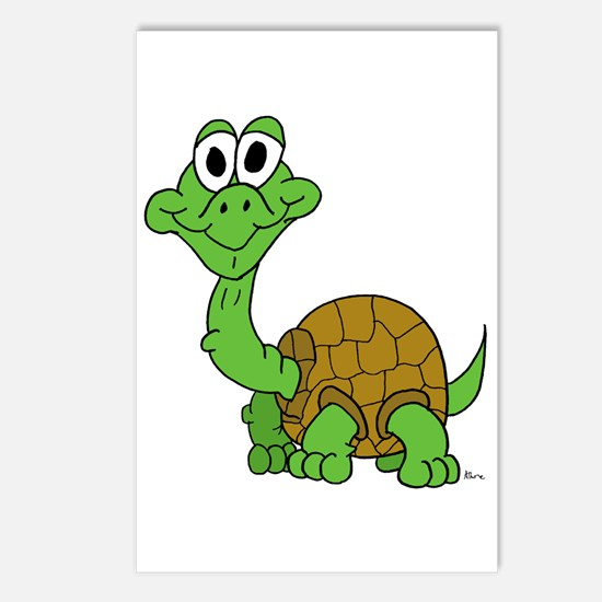 Awkward Baby Turtle Postcards (Package of 8)