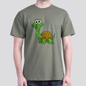 Awkward Baby Turtle Dark T-Shirt