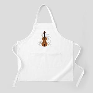 Violin Swirls (for dark colours) Apron