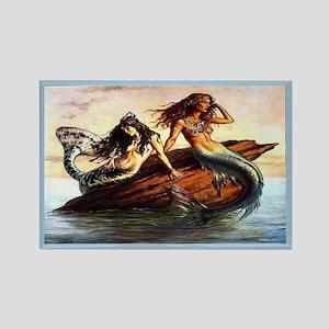 """Mermaids"" Rectangle Magnet"