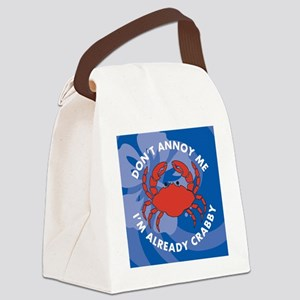 Dont Annoy Jewelry Case Canvas Lunch Bag