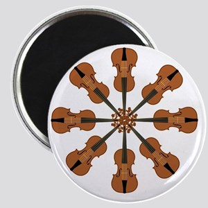 Circle of Violins Magnet