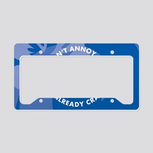 Dont Annoy Me Oval Hitch Cove License Plate Holder