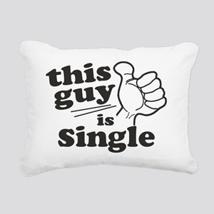 This Guy is Single Rectangular Canvas Pillow