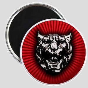 Vintage style Jaguar head emblem Magnet