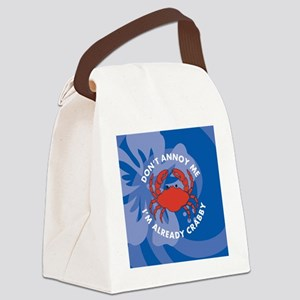 Dont Annoy Me Snowflake Ornament Canvas Lunch Bag