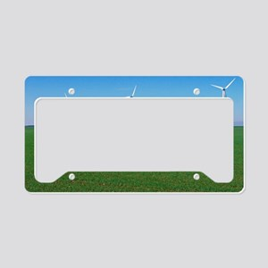 Wind turbines License Plate Holder